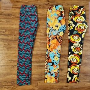 3 pairs OS LuLaRoe